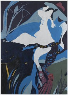 Chris Ofili. He's the Man.