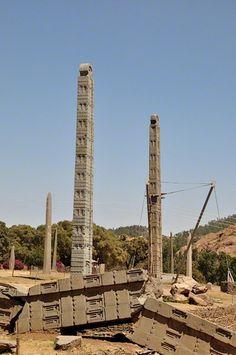 Axum Stelae - Axum Ethiopia