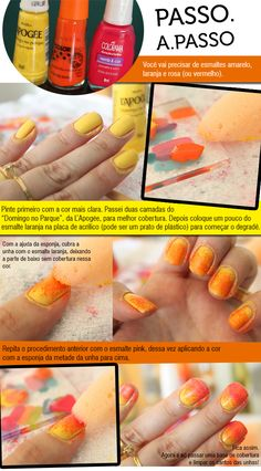 ombre-nails-passo-a-passo