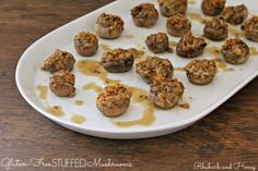 Gluten-Free Stuffed Mushrooms