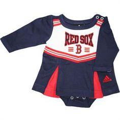 824270efe Boston Red Sox Team Dress. Onesie DressBaby DressBoston SportsBoston Red  SoxBaby SleepersRed ...