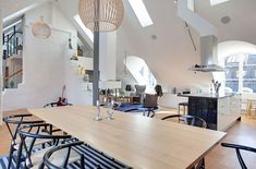 Luxurious Swedish Styled Attic Penthouse Located In Östermalm, Stockholm 6