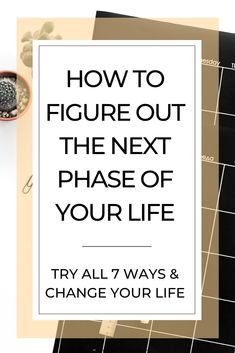 to Figure Out the Next Phase of Your Life Need some motivation to move your life forward? Try one or all of these 7 useful and effective strategies.Need some motivation to move your life forward? Try one or all of these 7 useful and effective strategies. Foundation Routine, Goals Planner, Life Planner, Weekly Planner, Coping Skills, Life Skills, Motivation, Believe, Life Organization