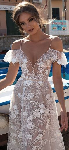 One of my new favs! MUSE by Berta Sicily Wedding Dresses 2018 #weddingdress