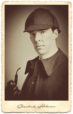 The Abominable Bride character portraits - Sherlock Holmes