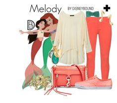 """Melody"" by leslieakay ❤ liked on Polyvore featuring NYDJ, Jos, Rebecca Minkoff, Vans, Republic of Pigtails, Mminimal, Bling Jewelry, disney, disneybound and plussize"