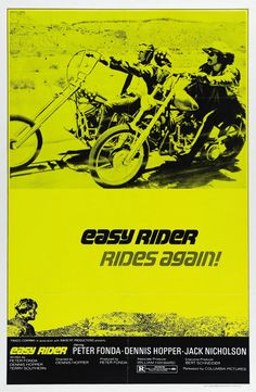Easy Rider (1969)  #movies #posters #DennisHopper #60s
