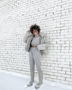 """Shawnaci Schroeder (@shawnacischroeder) posted on Instagram: """"can anyone else believe that tomorrow is the second month of the new year?"""" • Jan 31, 2021 at 5:24pm UTC Grey Outfit, Gray Dress, Plaid Blazer, Grey Fashion, Grey Sweater, Two By Two, Gray Color, Believe, Style Inspiration"""