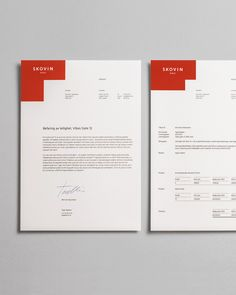 Invoice Design: 50 Examples To Inspire You Invoice Layout, Invoice Design, Letterhead Design, Invoice Template, Stationery Design, Identity Design, Brand Identity, Visual Identity, Personal Identity