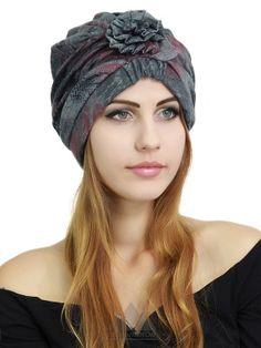Шапочка Лаура - Женские шапки - Из текстиля
