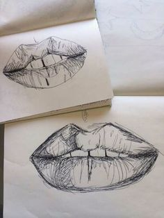 lips, art, and drawing image Illusion Kunst, Vintage Drawing, Art Hoe, Favim, Soft Grunge, Love Art, Art Inspo, Painting & Drawing, Art Reference