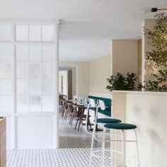 Norm Architects puts a Danish spin on an Italian restaurant interior