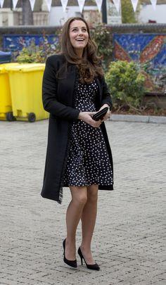 Kate Middleton Visits Brookhill Children's Centre | POPSUGAR Celebrity