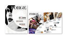 FORGE Fashion and Travel Magazine by Alexandrea Miller, via Behance