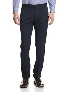 60% OFF Pierre Balmain Men's Skinny Pant (Navy)