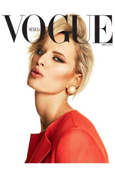 Karolina Kurkova by David Roemer for Vogue Mexico April 2014 cover Vogue Magazine Covers, Fashion Magazine Cover, Fashion Cover, Vogue Covers, Vanity Fair, Vogue Mexico, Cover Model, Vogue Fashion, Beleza