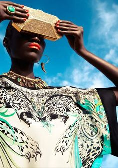 "Senegal's Supermodel Kinee Diouf Rocks Vogue Netherlands Jul 2013 - African Designers & Models - Part 2- Funky Fashions - Funk Gumbo Radio: http://www.live365.com/stations/sirhobson and ""Like"" us at: https://www.facebook.com/FUNKGUMBORADIO"