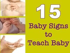 15 baby signs. I love the little videos. :)