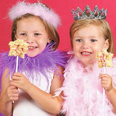 Fairy Princess Rice Crispy Treat Star Wands