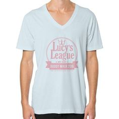 Lucy's League V-Neck (on man)