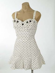 1940's Beach Wear- 40s Ceeb of Miami Novelty Print Playsuit SwimDress