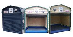 Cobertizos de metal para el jard n jard n y terrazas for Jardin 6x6 shed