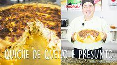 Quiche de queijo e presunto por Marcelo Bellini - Dica #23