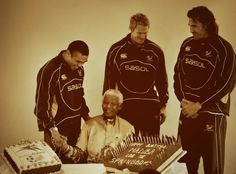 """Happy Birthday Tata! Bryan Habana tweeted: """"As a nation we salute you and keep you in our prayers! 