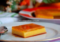 Falso tocino de cielo Flan, Cheesecake, Beverages, Pudding, Desserts, Recipes, Gastronomia, Cold Desserts, Bacon