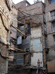 Weird architecture - Kathmandu, Nepal