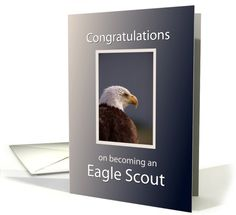 It's just a graphic of Astounding Eagle Scout Congratulations Card Printable
