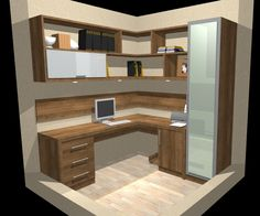 Trendy Home Office Quarto Vidro Home Office Space, Bedroom Office, Home Office Decor, Home Bedroom, Office Interior Design, Office Interiors, Workout Room Home, Study Room Design, Home Office Organization