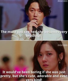 """""""Fated To Love You"""" ♥ when Gun comes to rescue Mi Young from the rude high society crowd."""