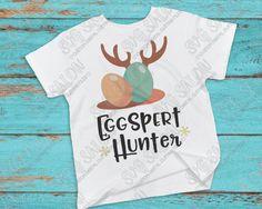 Eggspert Hunter Easter SVG Cut File Set