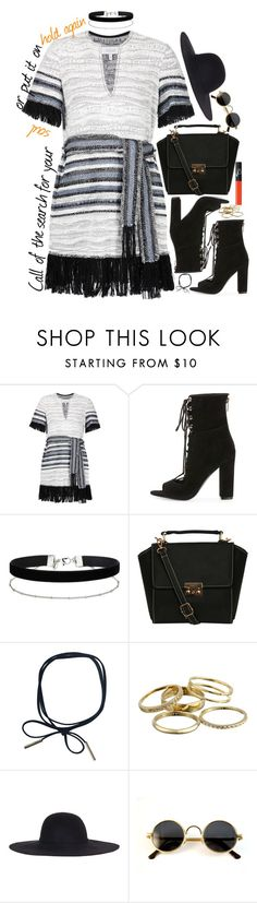 """""""No.1 Party Anthem ★★ Arctic Monkeys"""" by devil-in-a-new-dress ❤ liked on Polyvore featuring 10 Crosby Derek Lam, Kendall + Kylie, Miss Selfridge, Pilot, Kendra Scott and NARS Cosmetics"""