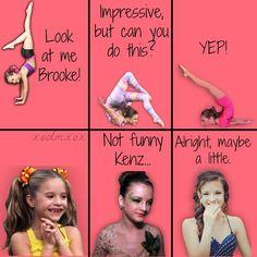 brooke an kenzie Dance Moms Quotes, Dance Moms Funny, Dance Moms Facts, Dance Moms Dancers, Dance Mums, Dance Moms Girls, Mama Memes, Mom Jokes, Mom Humor