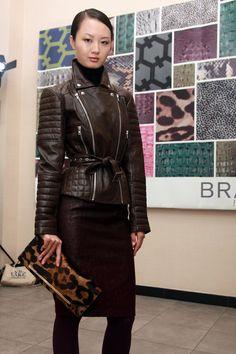 Brahmin-handbag * great leopard print*