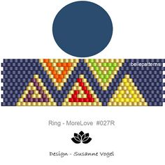peyote ring patternPDF-Download 027Rbeading Peyote Stitch Tutorial, Peyote Stitch Patterns, Seed Bead Patterns, Beading Patterns, Peyote Beading, Seed Bead Jewelry, Beaded Rings, Seed Beads, Scrappy Quilts