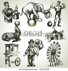 Circus Vector Stock Photos, Images, & Pictures | Shutterstock