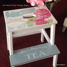 Follow the fun we have in store with ikea stools. Stencil available on www.shabby.ie Ikea Stool, Darning, Quality Furniture, Stencils, Unique Gifts, Shabby, Furnitures, Stools, Fun