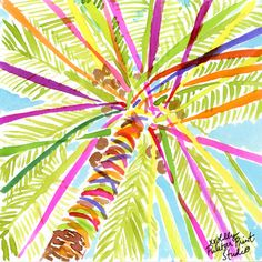 Our kind of by lillypulitzer Lilly Pulitzer Patterns, Lilly Pulitzer Prints, Lily Pulitzer Painting, Vines, Beach Art, Painting Inspiration, Life Inspiration, Art Inspo, Design Inspiration