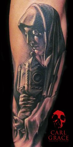 Statue tattoo 2  by *hatefulss
