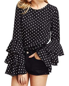 ZANZEA Women's Polka Dot Layered Ruffle Long Sleeve Crew ... https://www.amazon.com/dp/B06XSGKD33/ref=cm_sw_r_pi_dp_x_EBQZzbQGJH2K4