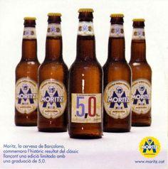 Moritz 5,0... GOT IT!!! Beer Bottle, Barcelona, Drinks, Ale, Drinking, Beverages, Beer Bottles, Barcelona Spain, Drink