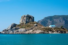Monastery off the coast of Kos, Greece Places To Travel, Travel Destinations, Places To Visit, Cap Vert, Travel Box, Southern Europe, Travel Channel, Thessaloniki, Grand Tour