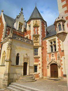 The Château du Clos Lucé in Amboise, France