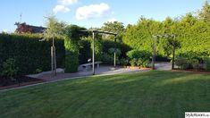 Vegetable Garden Design, Pergola, Sidewalk, Villa, Yard, Inspiration, Gardens, Biblical Inspiration, Patio