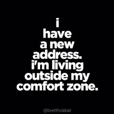 I heard you're moving to my neighborhood. Tag a friend that's coming with you! #breakupwithyourcomfortzone