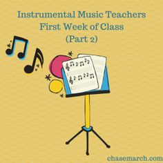 Lesson Plan for the first few lessons of a Beginning Band Class