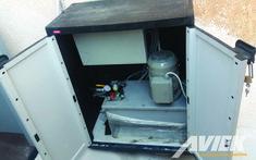 Υδραυλική μονάδα και πίνακας αναβατορίου ΑμΕΑ